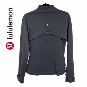 Lululemon Grey Full Zip Define Jacket iPod Pocket